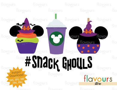 Minnie Snack Ghouls - SVG Cut File