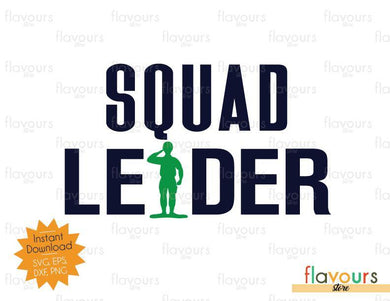 Squad Leader - Toy Story - SVG Cut File