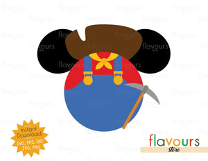 Stinky Pete Ears - Toy Story - SVG File