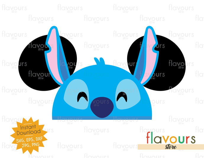 Stitch Ears - SVG Cut File