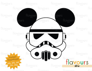 Stormtrooper Ears - Star Wars - Cuttable Design Files