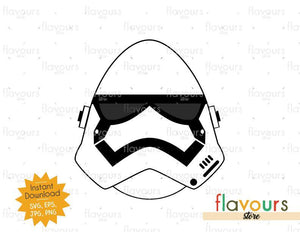 Stormtrooper Easter Egg - Instant Download - SVG Cut File