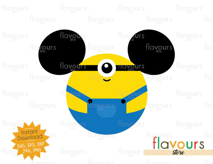 Stuart Ears - Minions - SVG Cut File