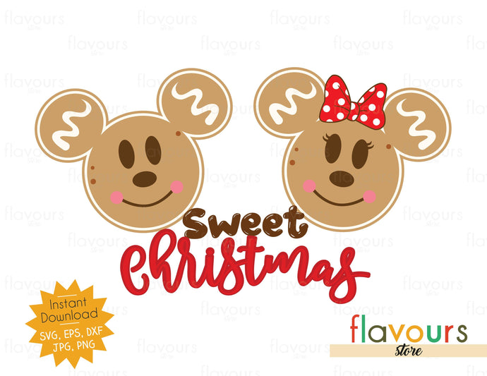 Sweet Christmas - SVG Cut File