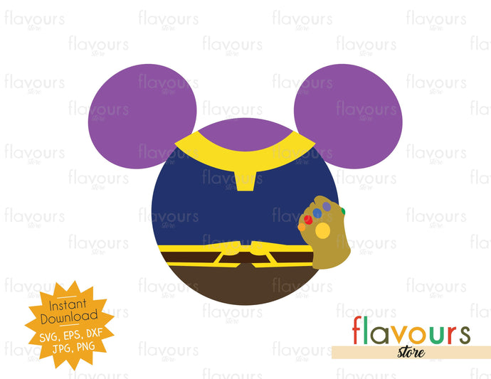 Thanos Ears - Instant Download - SVG Cut File