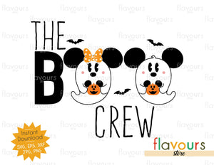 The Boo Crew - SVG Cut File