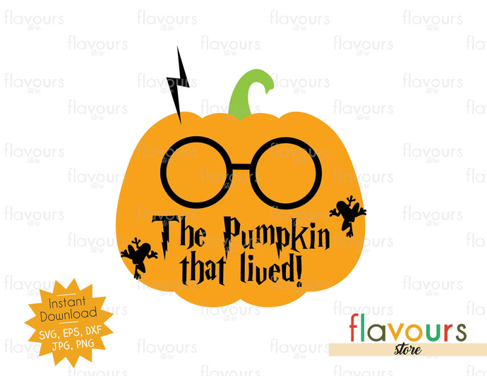 The Pumpkin That Lived - SVG Cut File