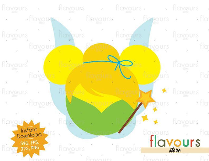 Tinkerbell Ears - SVG Cut File