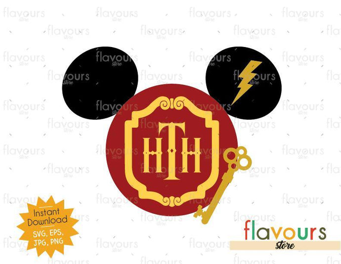 Tower Of Terror Ears - SVG File