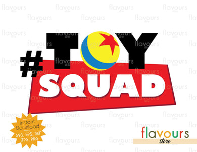 Toy Squad - Toy Story - Instant Download - SVG Cut File - FlavoursStore