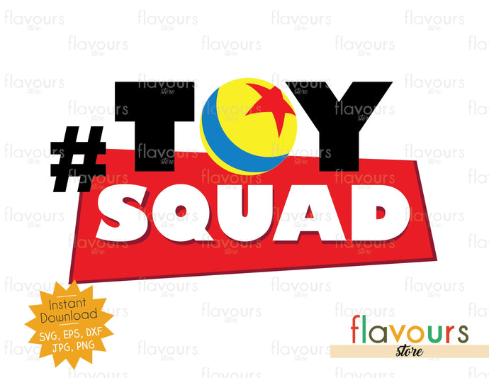 Toy Squad - Toy Story - Instant Download - SVG Cut File