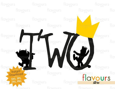 Two - Wild Thing - Cuttable Design Files - FlavoursStore