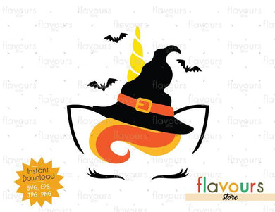 Unicorn Halloween - Halloween - SVG Cut Files