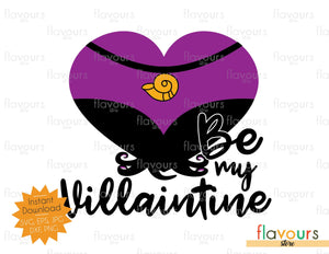 Ursula - Be my Villaintine - SVG Cut File