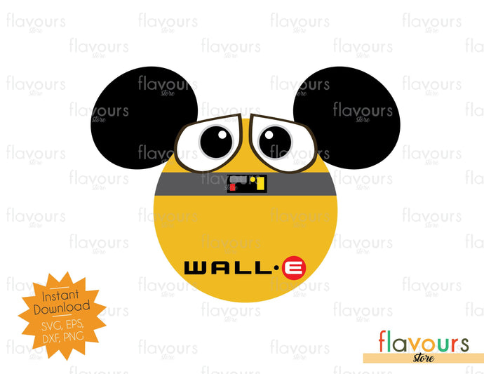 Wall E Ears - Instant Download - SVG Cut File
