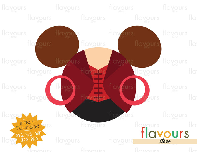 Wanda Maximoff Ears - Instant Download - SVG Cut File