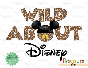 Wild About Disney - Animal Kingdom - Digital Files Printables