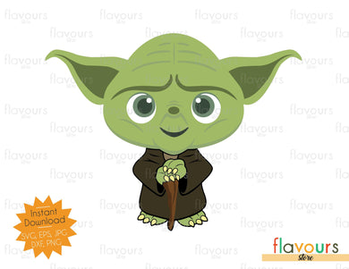 Yoda - Star Wars - Cuttable Design Files