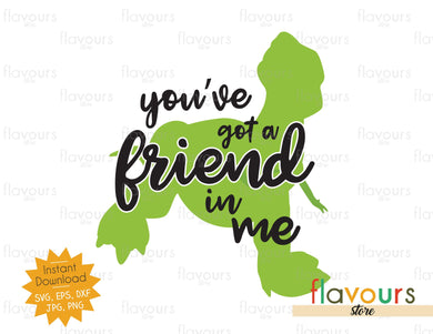 You've Got a Friend in Me - Rex - Toy Story - SVG Cut File - FlavoursStore