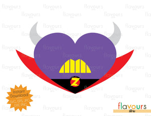 Zurg Heart - Instant Download - SVG Cut File