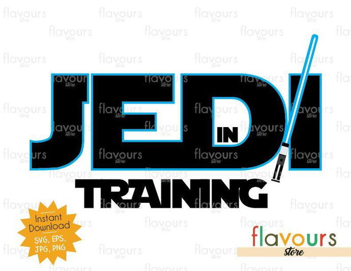 Jedi in Training - Star Wars - Cuttable Design Files