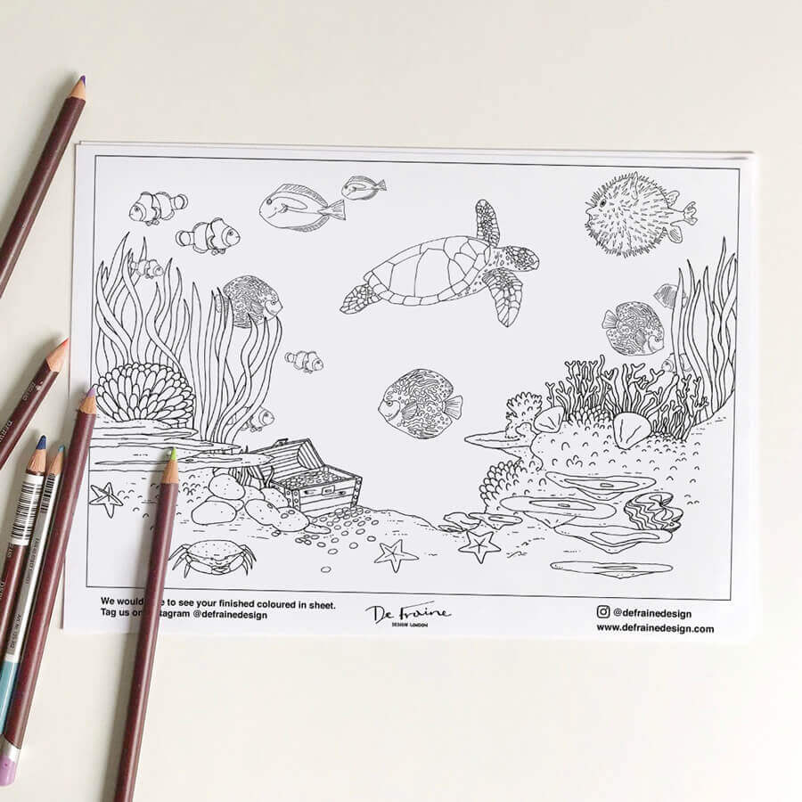 FREE Colouring Page download