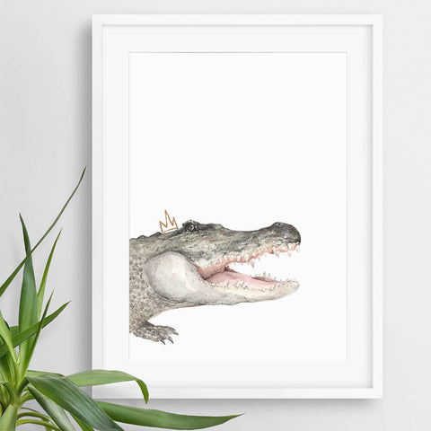 safari nursery art print