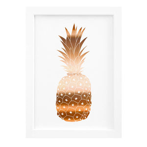 copper foil pineapple