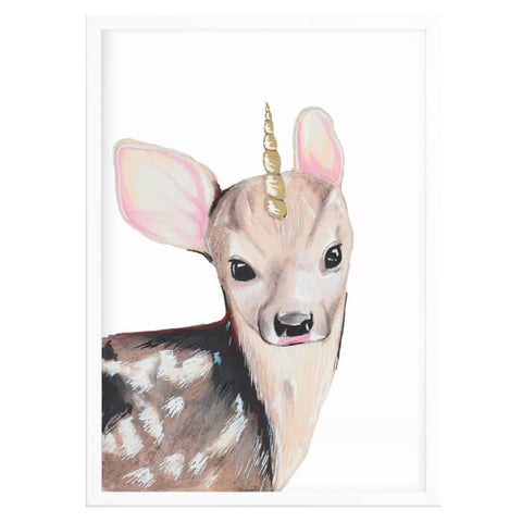 Bambi Nursery Decor Print