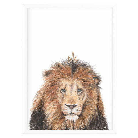 Magical Lion Animal Print