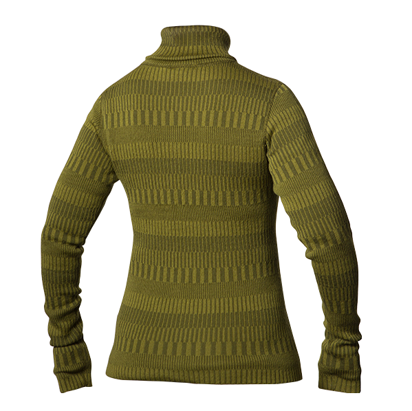 Wooljacket organic green cardigan