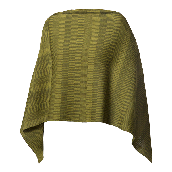 Ullponcho Olive / Moss Green