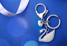 CRYSTALLISED KEY RINGS