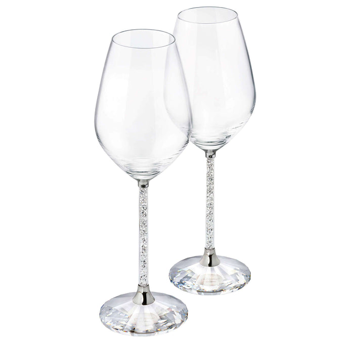 Swarovski Crystalline Red Wine Glasses (Set Of 2)