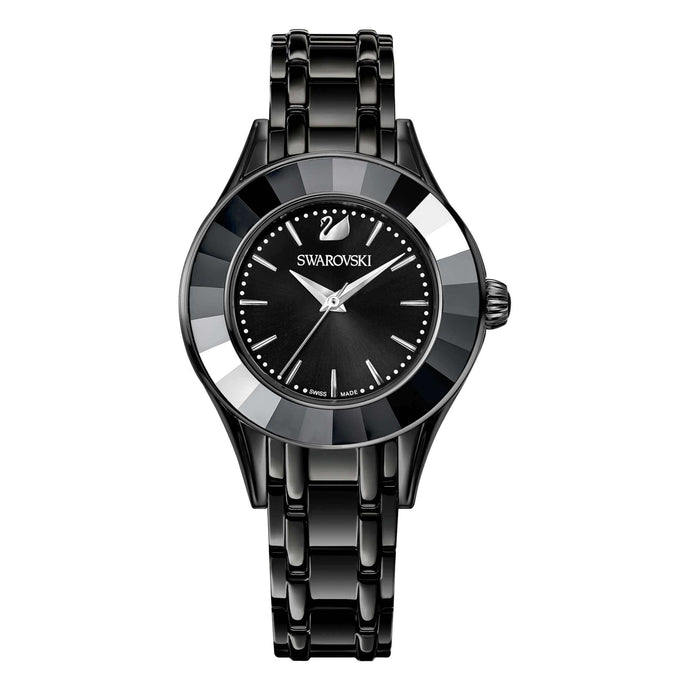 Swarovski Alegria Watch, Black