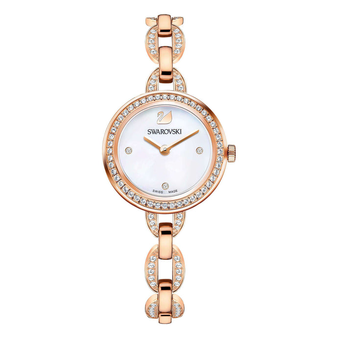 Swarovski Aila Mini Watch, Rose Gold Tone