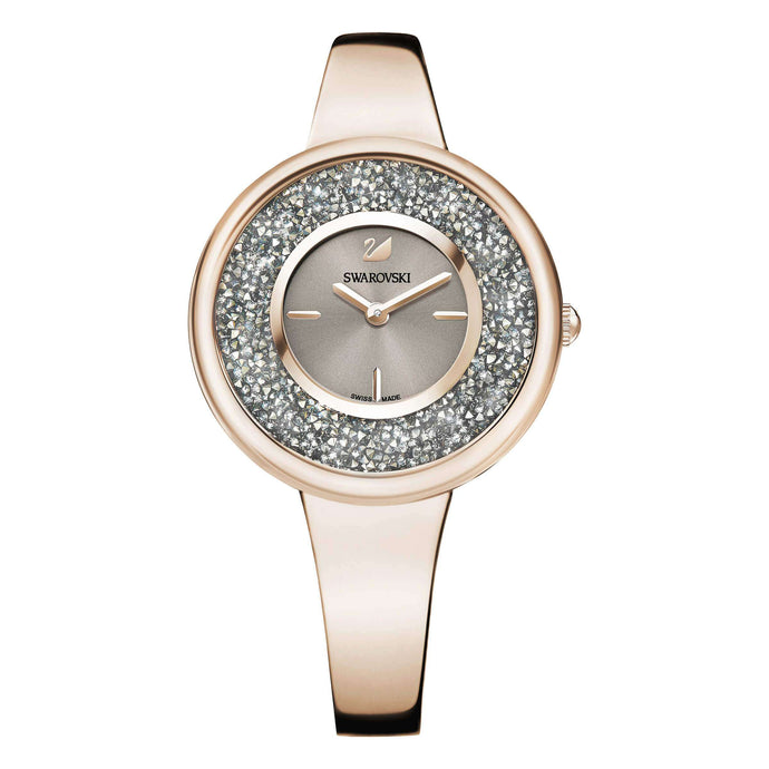 Crystalline Pure Watch, Metal Bracelet, Champagne Gold Tone