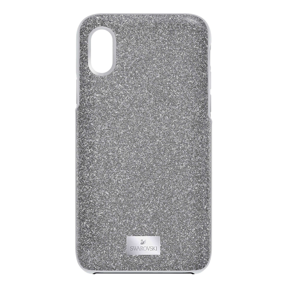 Swarovski High Smartphone Case With Bumper, Gray