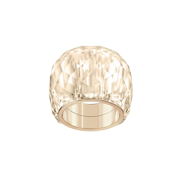 Swarovski Nirvana Ring, Pink, Rose-gold tone PVD