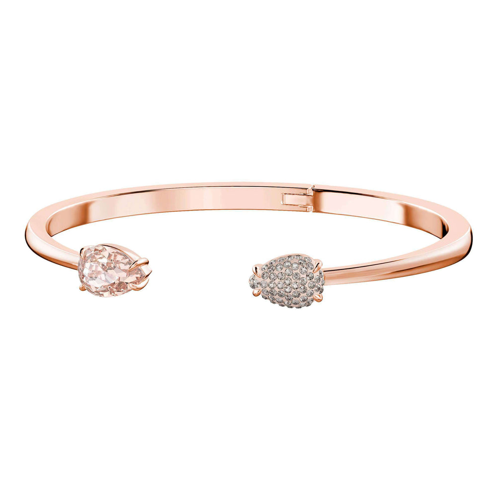 Mix Bangle, Pink, Rose Gold Plating