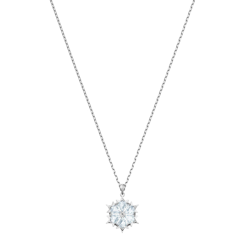 Magic Pendant, White, Rhodium Plating