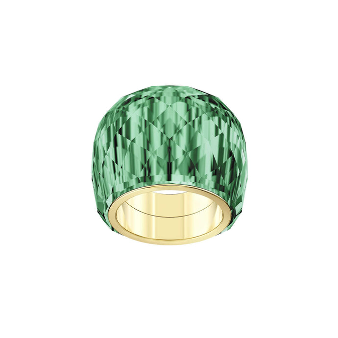 Swarovski Nirvana Ring, Green, Gold-tone PVD