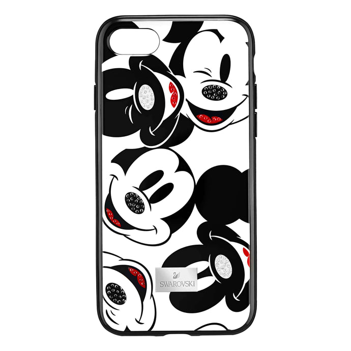 Mickey Face Smartphone Case With Integrated Bumper, Iphone® X, Black