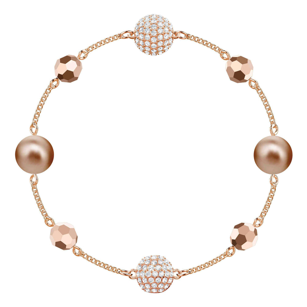 Swarovski Swarovski Remix Collection Strand, Multi-Colored, Rose Gold Plating