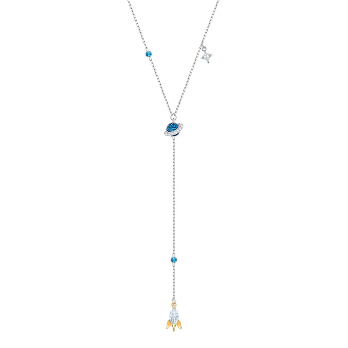 Swarovski Out of this World Space Y Necklace, Multi-colored, Mixed plating
