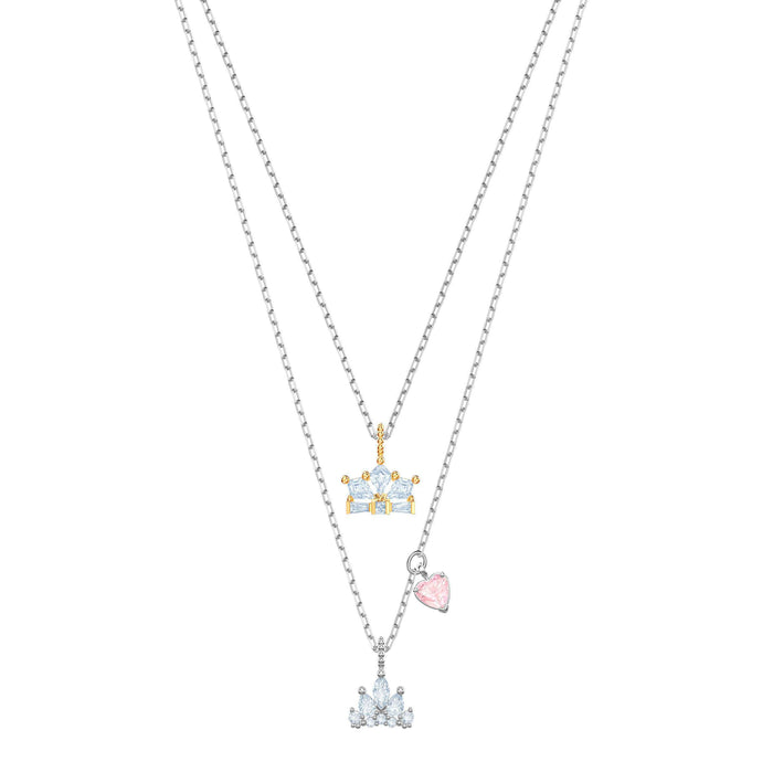 Swarovski Out of this World Queen Necklace, White, Mixed plating