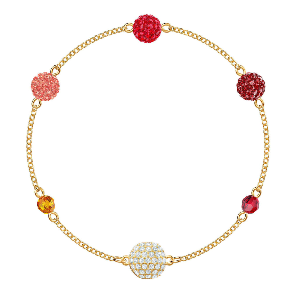 Swarovski Swarovski Remix Collection Pop Strand, Multi-colored, Gold plating
