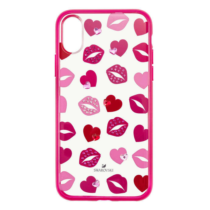 Swarovski Lovely Smartphone case with integrated Bumper, iPhone® X/XS, Pink