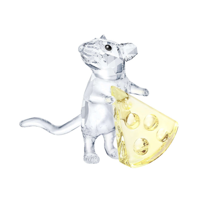 Swarovski Mouse with cheese