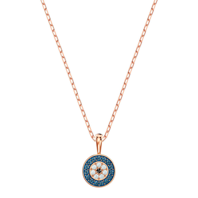 Luckily Pendant, Multi-colored, Rose gold plating